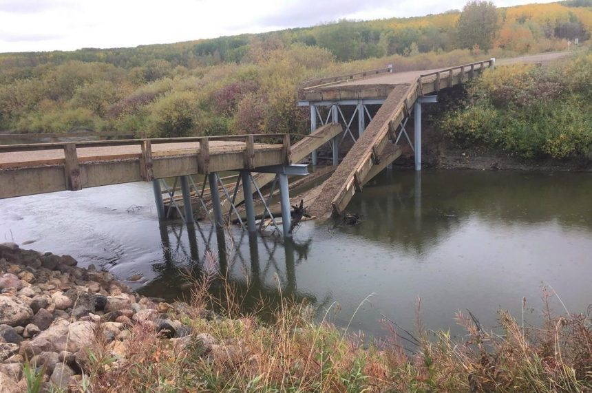 RM wanted cheaper option for bridge that fell: rural municipalities director