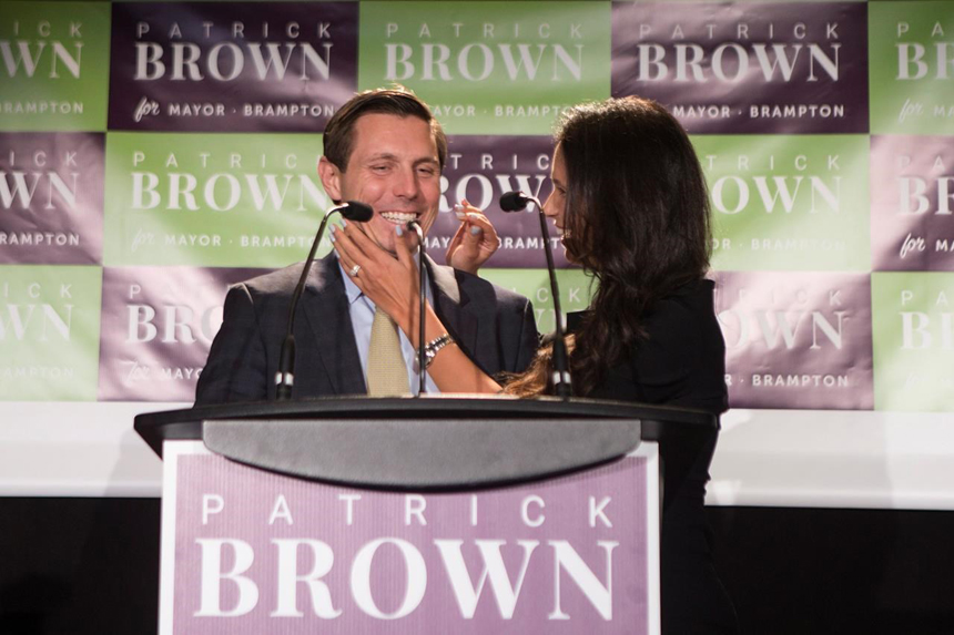 Patrick Brown makes political comeback as next mayor of Brampton, Ont.