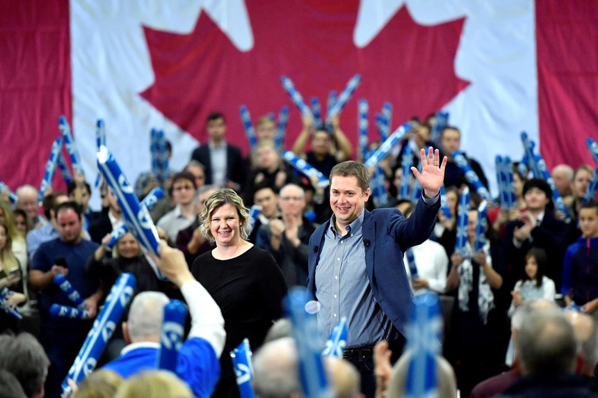 Scheer marks one-year countdown to federal election with campaign-style speech