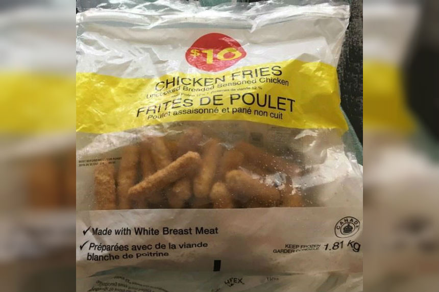 Loblaw recalls chicken fries for possible salmonella after four people become ill