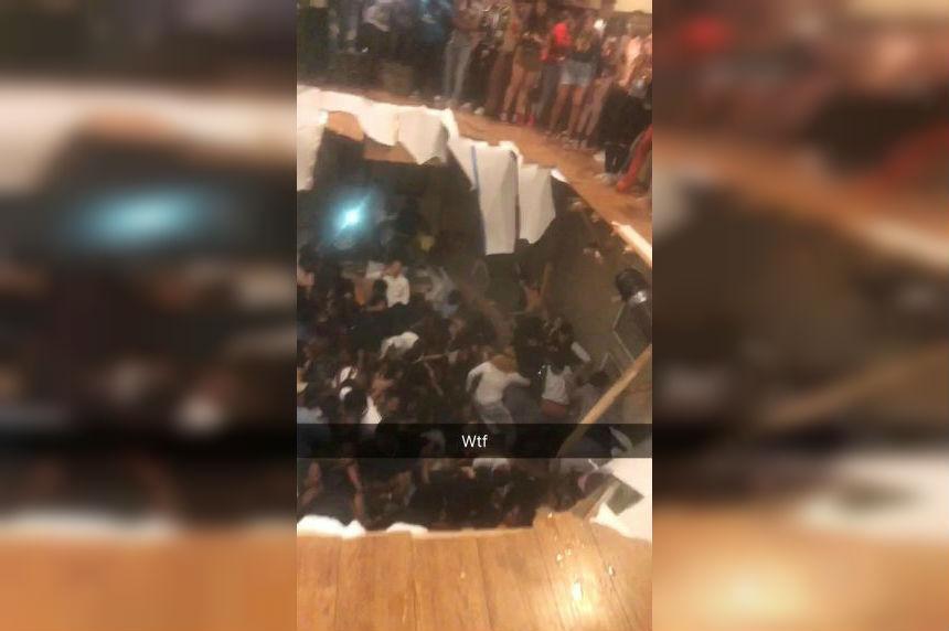 Dozens hurt in floor collapse at S. Carolina apartment party