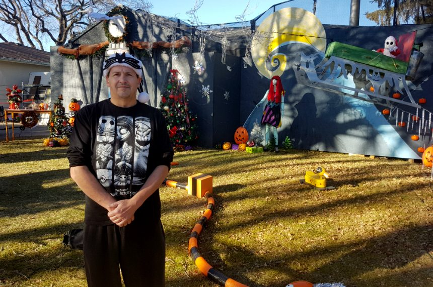 Saskatoon Halloween house ready for haunted holiday