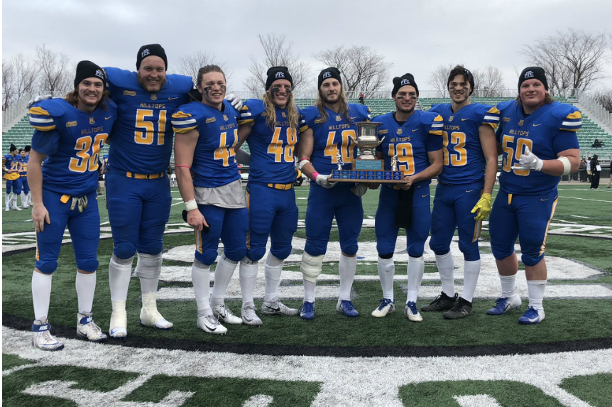 Hilltops overpower Huskies for fifth consecutive PFC title