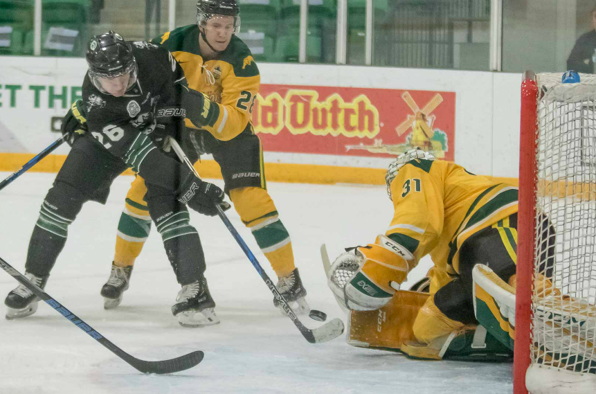 Huskies hound Cougars, stay unbeaten at Merlis Belsher Place