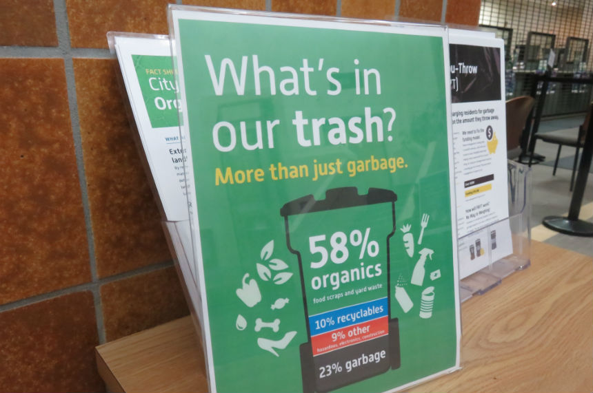 Curbside organics program approved, funding still up in air