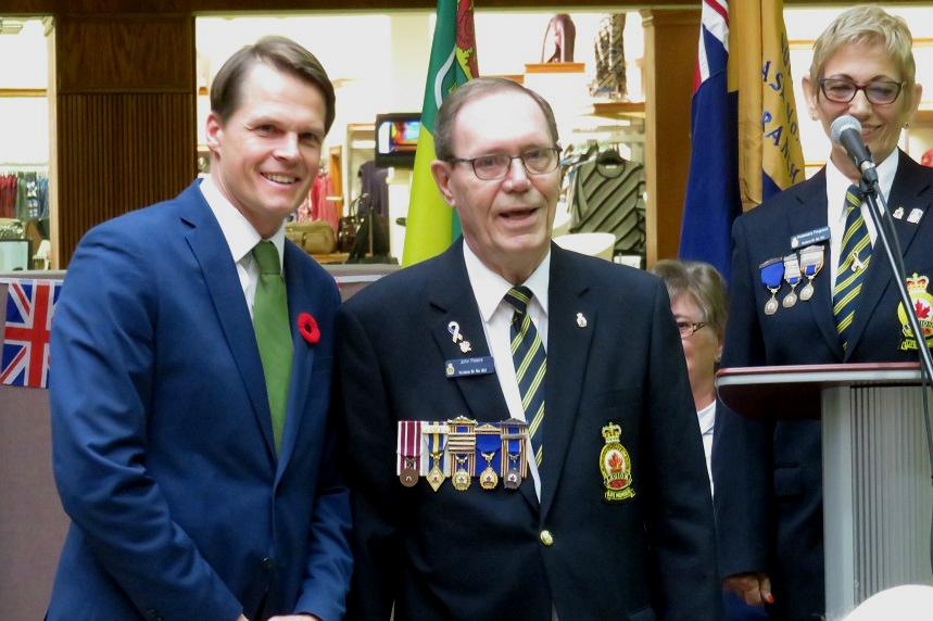 Royal Canadian Legions kick off Saskatoon poppy campaign