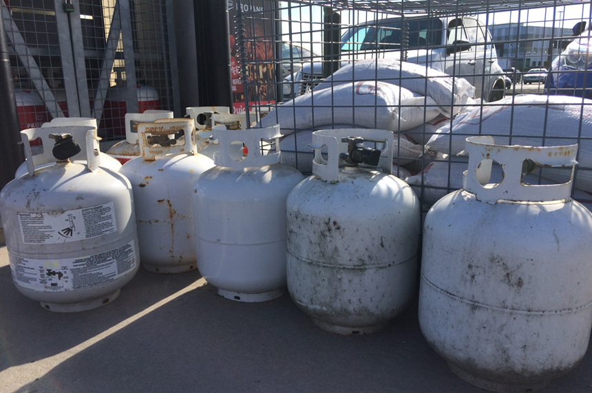 Propane deliveries delayed as Sask. farmers dry grain grain harvest
