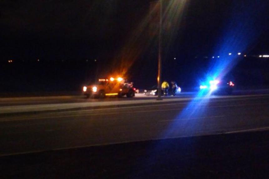 Police nab racers on Chief Mistawasis Bridge