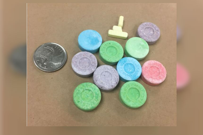 Police seize Xanax disguised as SweeTarts candy