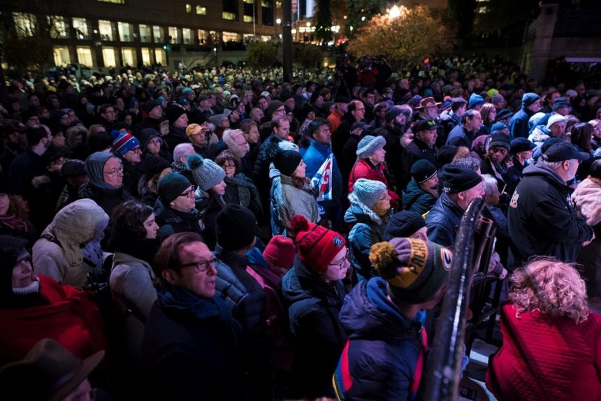 Hundreds gather in Montreal to remember victims of attack on Pittsburgh synagogue