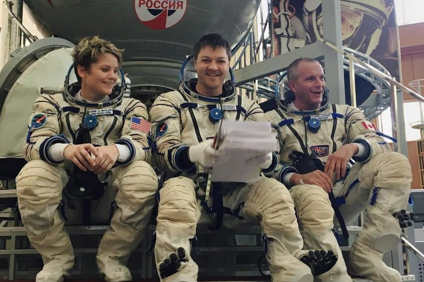 Crew, including Canadian, could be heading to space station Dec. 3: Russians