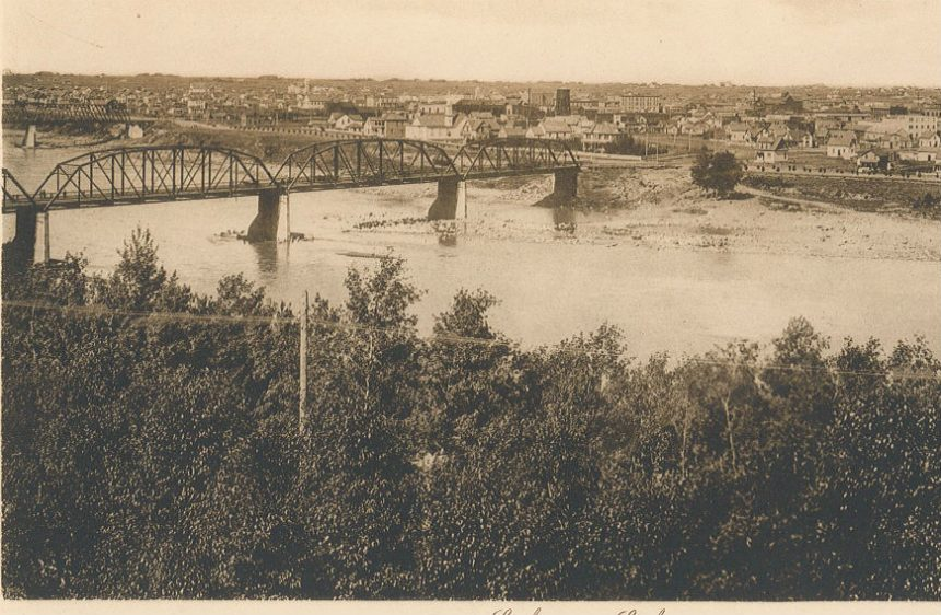 Crossing the South Saskatchewan River: From then 'til now
