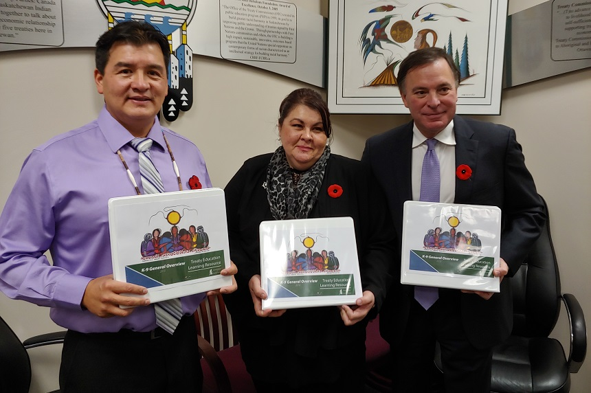 Province unveils new treaty education support for teachers
