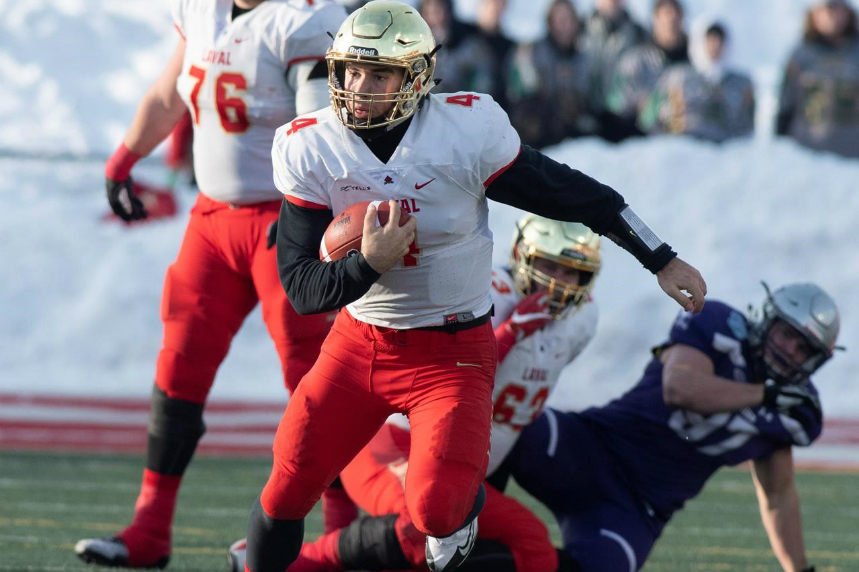 Laval Rouge et Or down Western Mustangs 34-20 for 10th Vanier Cup title