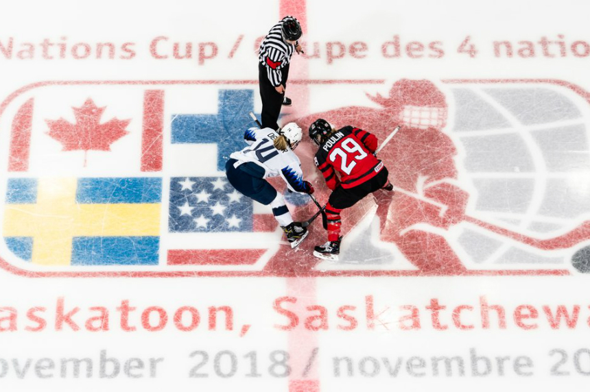 Late goal sends USA past Canada at 4 Nations Cup