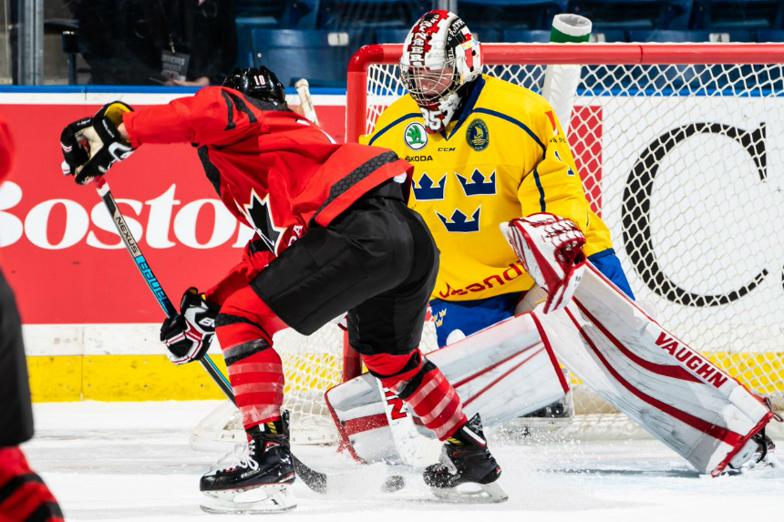 Team Canada beats Sweden 6-1 to open 4 Nations Cup
