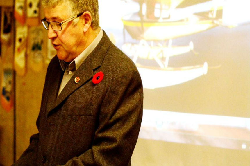 La Ronge man carries on with Second World War tribute