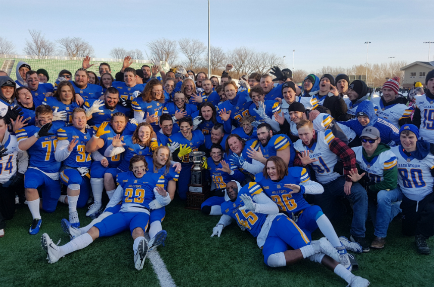 Hilltops beat Langley Rams for fifth-straight Canadian Bowl