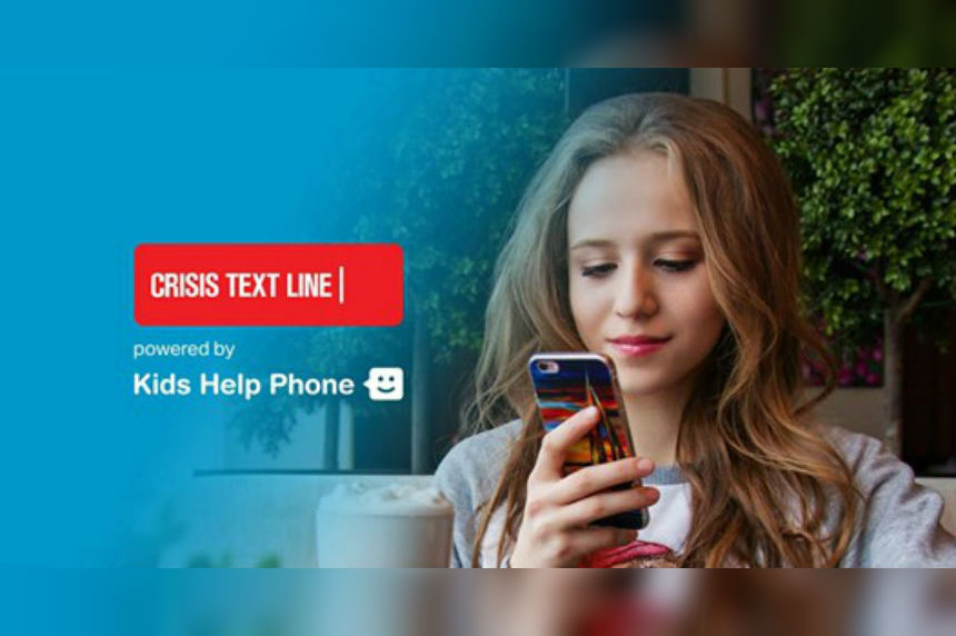 Kids Help Phone launches national text service