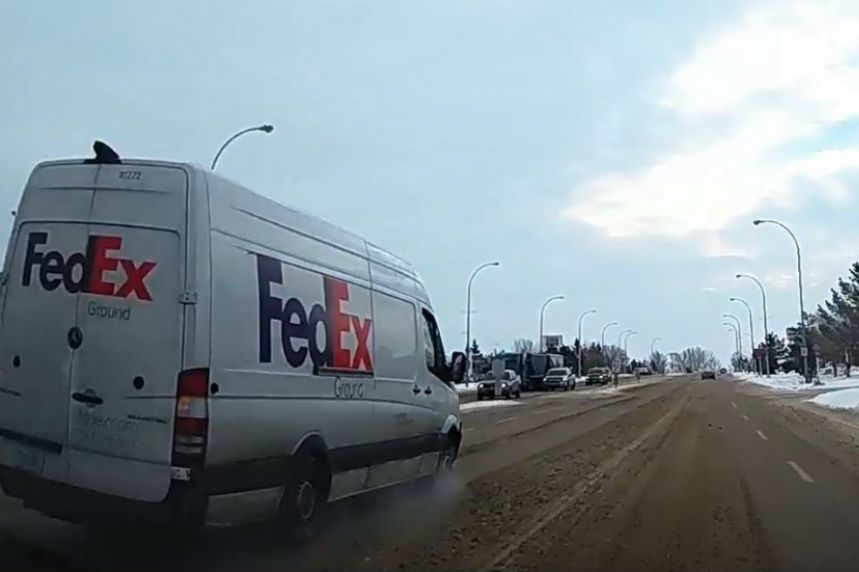 Stop that van: police pursue mail van through P.A.