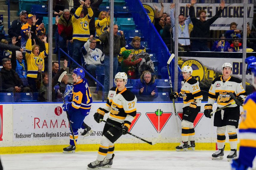 Haden's late-game heroics lead Blades over Wheat Kings