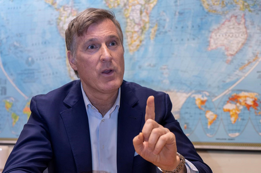 Bernier says People's Party set up in all 338 ridings ahead of 2019 election