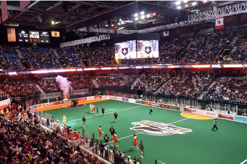 Rush fall short to open NLL season, lose to Black Wolves