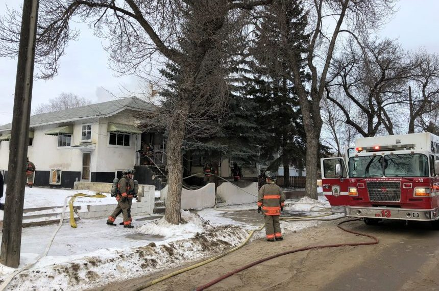 Fire damages two neighbouring Avenue H homes
