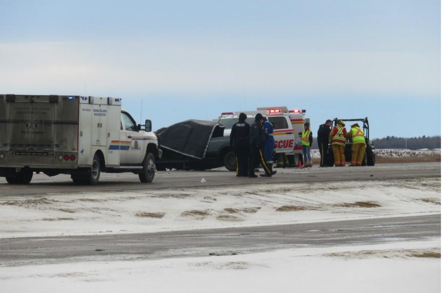 1 person dead after Highway 7 crash in Vanscoy