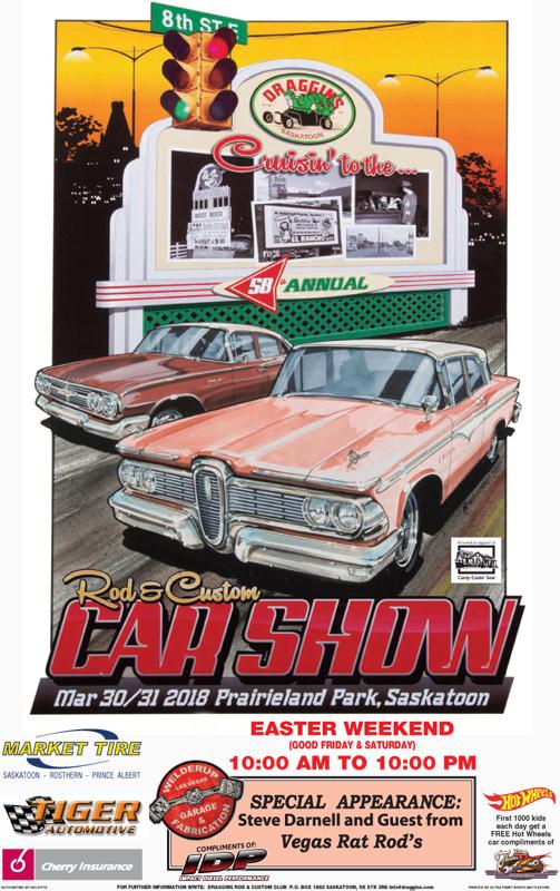 Draggins Rod Custom Car Show ROCK - Car show in vegas 2018