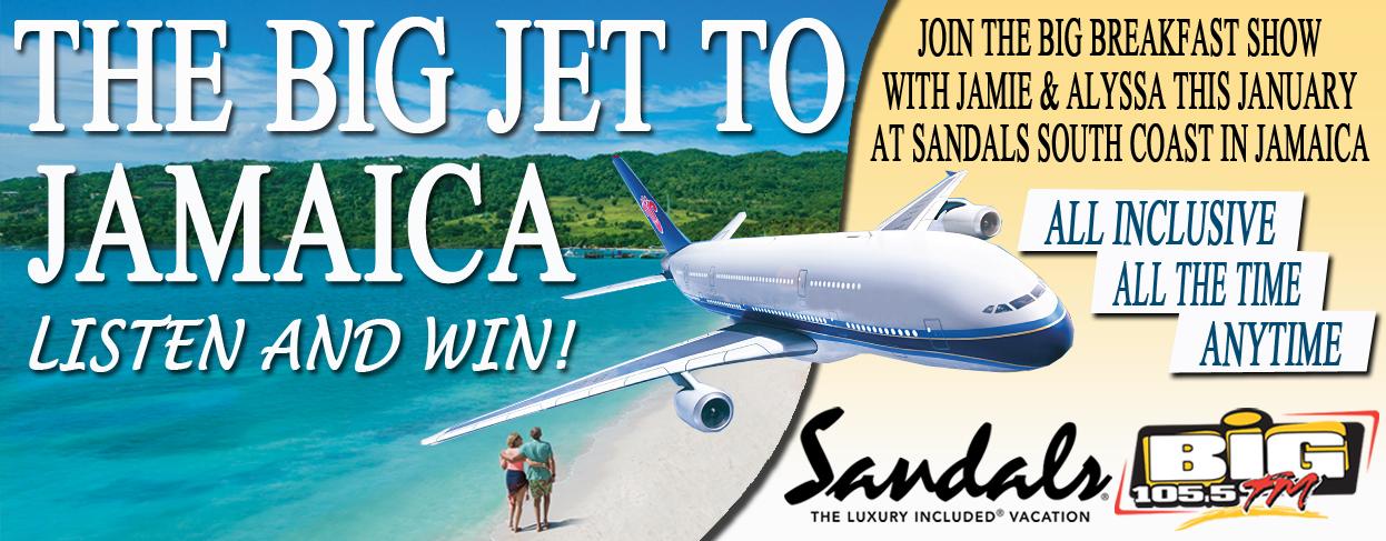 BIG Jet to Jamaica