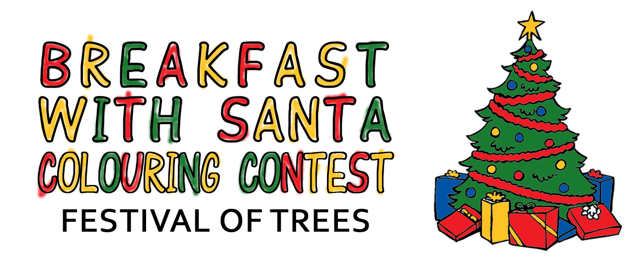Breakfast with Santa Colouring Contest