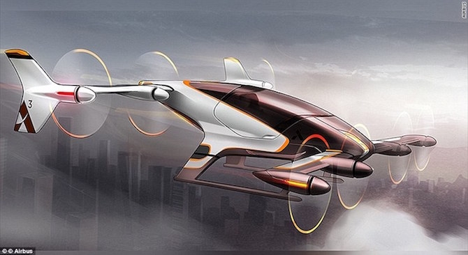 Driverless FLYING Cars Could Soon Be A Thing