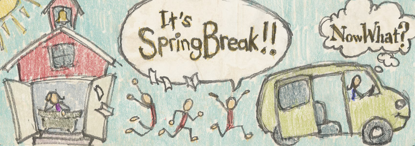Spring Break with the Kids ***CONTEST POST***
