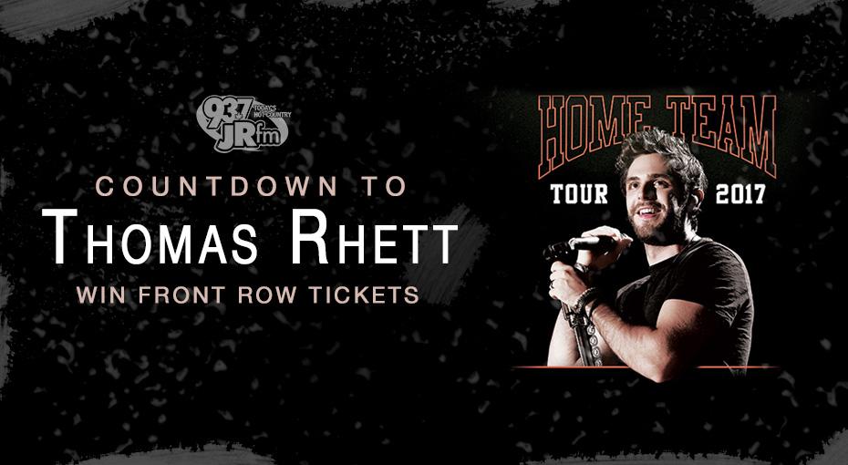 Countdown To Thomas Rhett – Win Tickets!