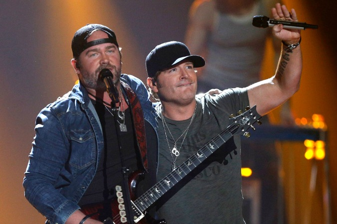 Jerrod Niemann and Lee Brice Put Friendship Aside to Face Off on Celebrity Family Feud This Sunday