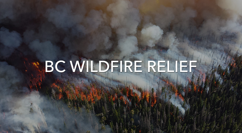 Help those affected by BC Wildfires