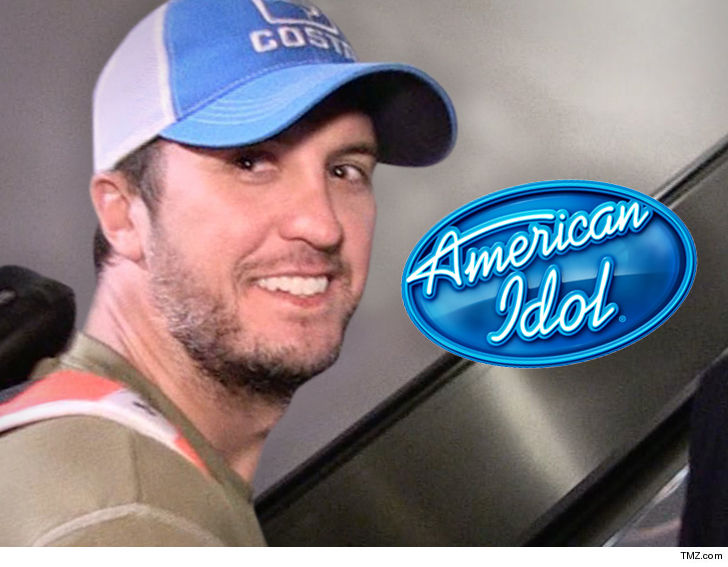 Luke Bryan on American Idol??