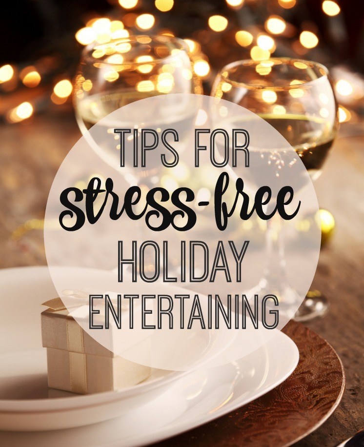 WIN a FULL Christmas Dinner!!!! Plus My Holiday Entertaining Tips + DIY Tricks