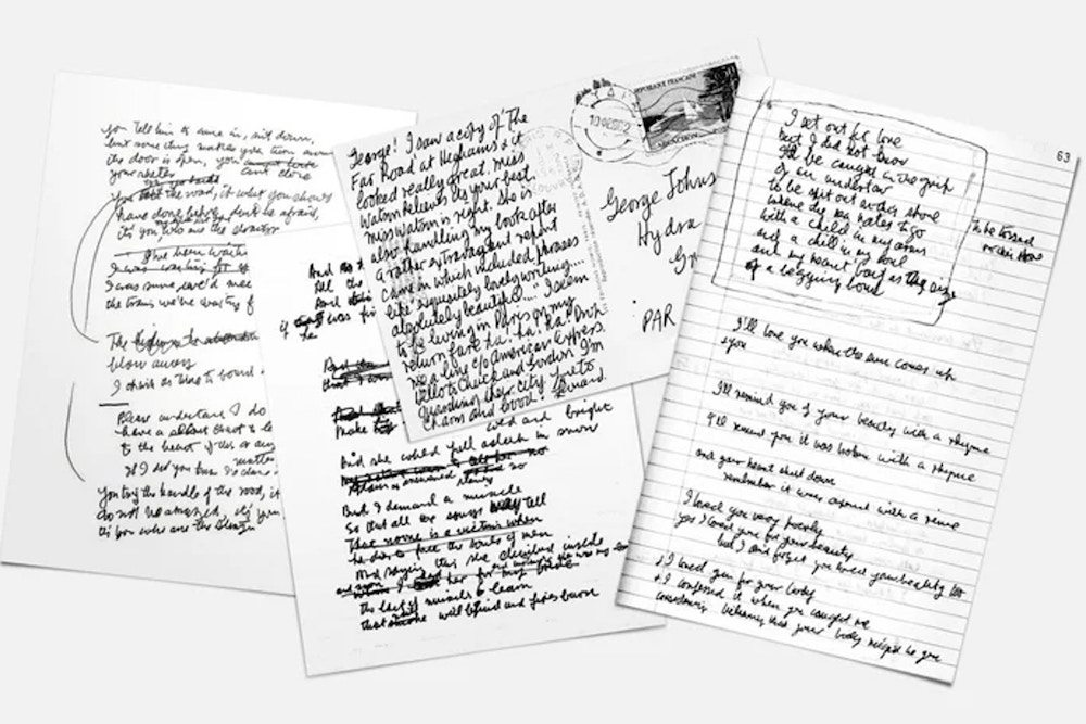 David Bowie, Kurt Cobain, John Lennon Handwriting Turned Into Fonts
