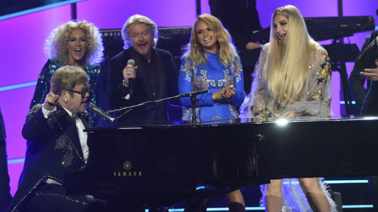 Maren Morris, Little Big Town and Miranda Lambert sing the songs of Elton John TONIGHT