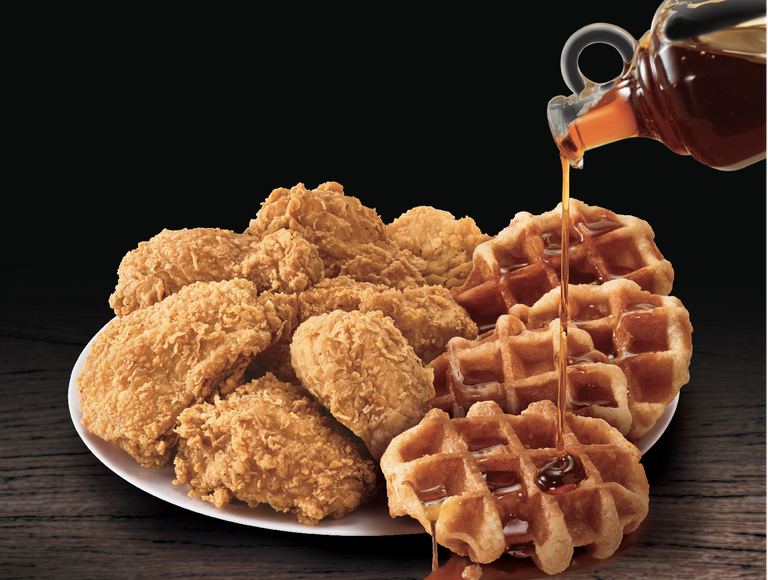 KFC Is Finally Making Chicken And Waffles!