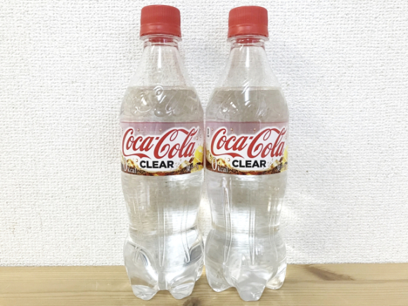 First Crystal Pepsi, Now Coca-Cola Clear