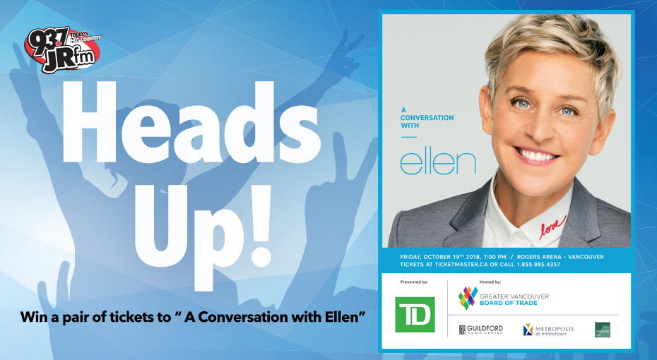 Win Tickets to A Conversation With Ellen