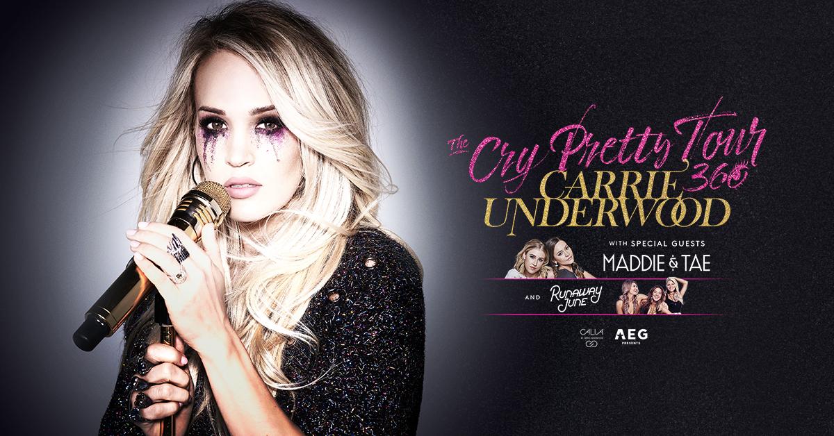 See Carrie Underwood in California!