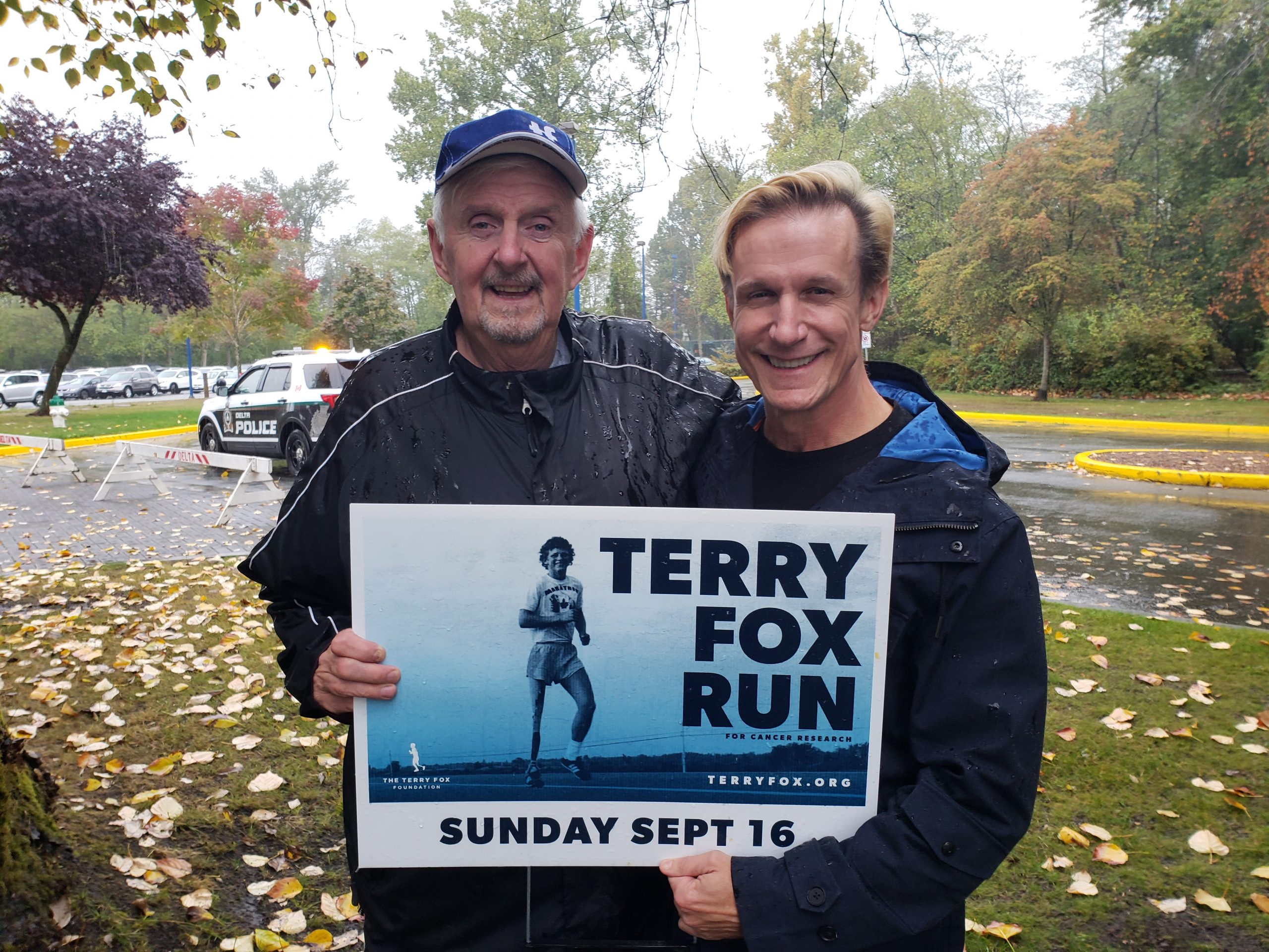 For Terry Fox Sunday: Cancer is horribly inconvenient.
