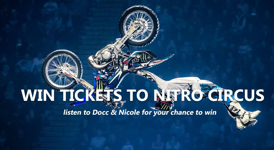 Win Nitro Circus Tickets