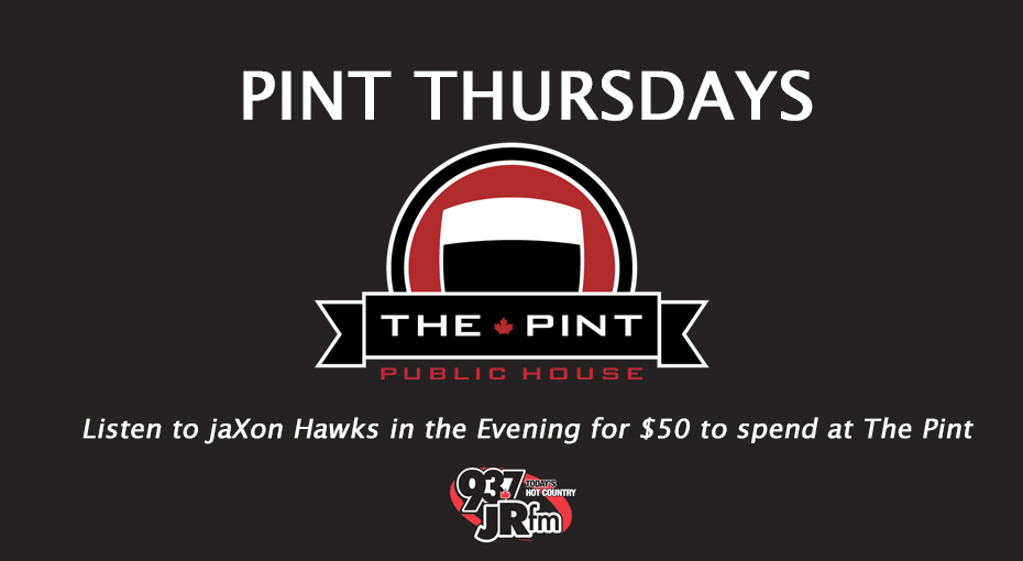 jaXon Hawks has your chance to win $50 to The Pint