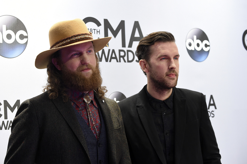 Brothers Osborne Nominated for Vocal Duo of the Year 3rd Year in a Row! (Duh)