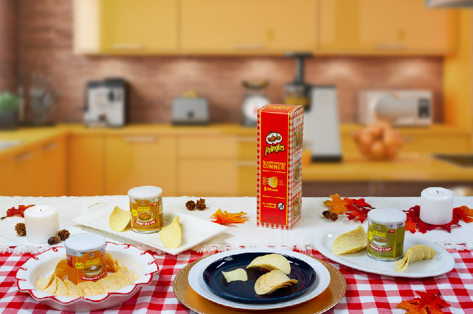 PRINGLES UNVEILS THANKSGIVING DINNER FLAVORED CHIPS